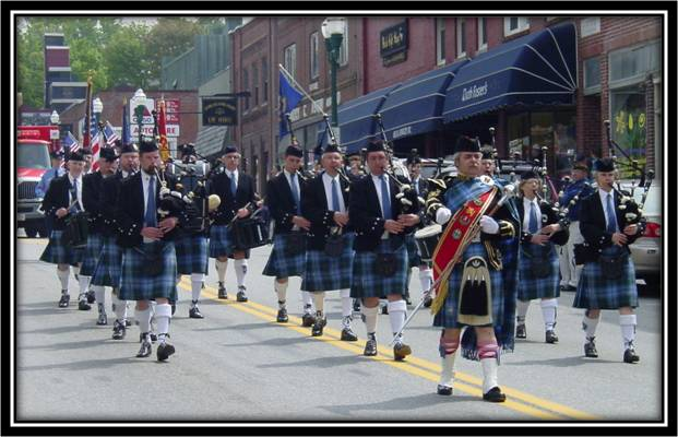 Maine St Andrew's Pipes & Drums